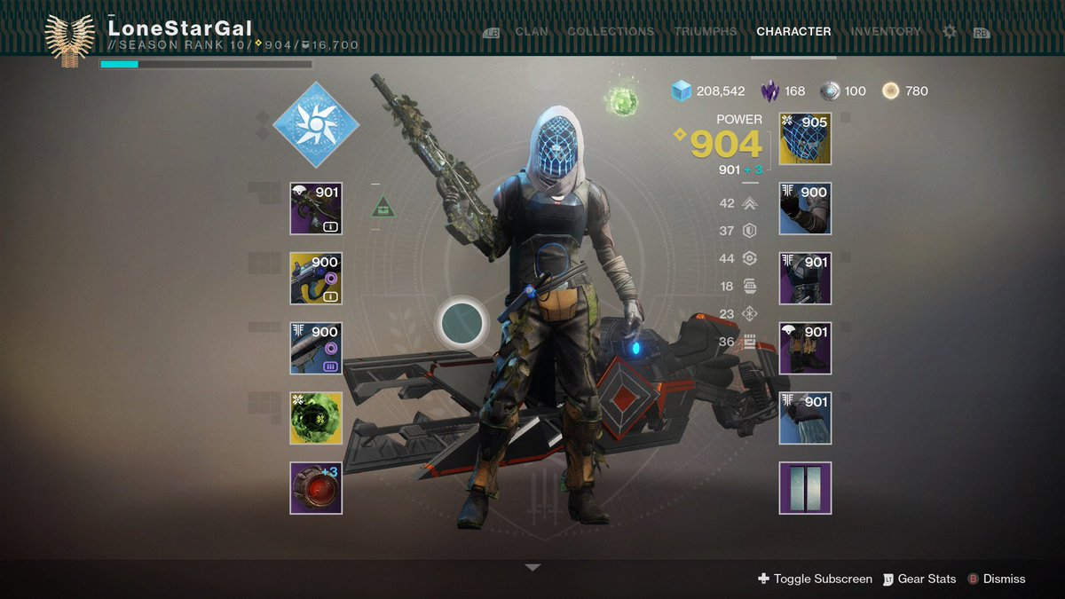 Doing this alone wasn't the plan, and I'm not an exceptional player. But I'm making progress. 😋 #Destiny2Shadowkeep