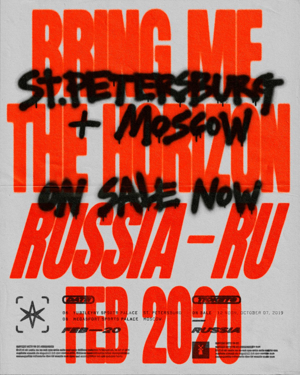 Bring Me The Horizon Tour 2020.Bring Me The Horizon On Twitter Ryѕѕia ғev 2020 ѕnowѕ On