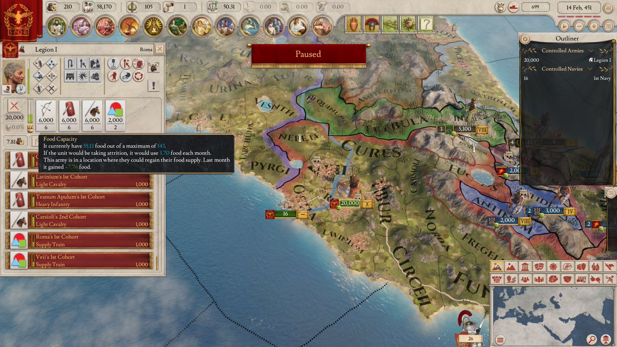 Imperator rome army composition