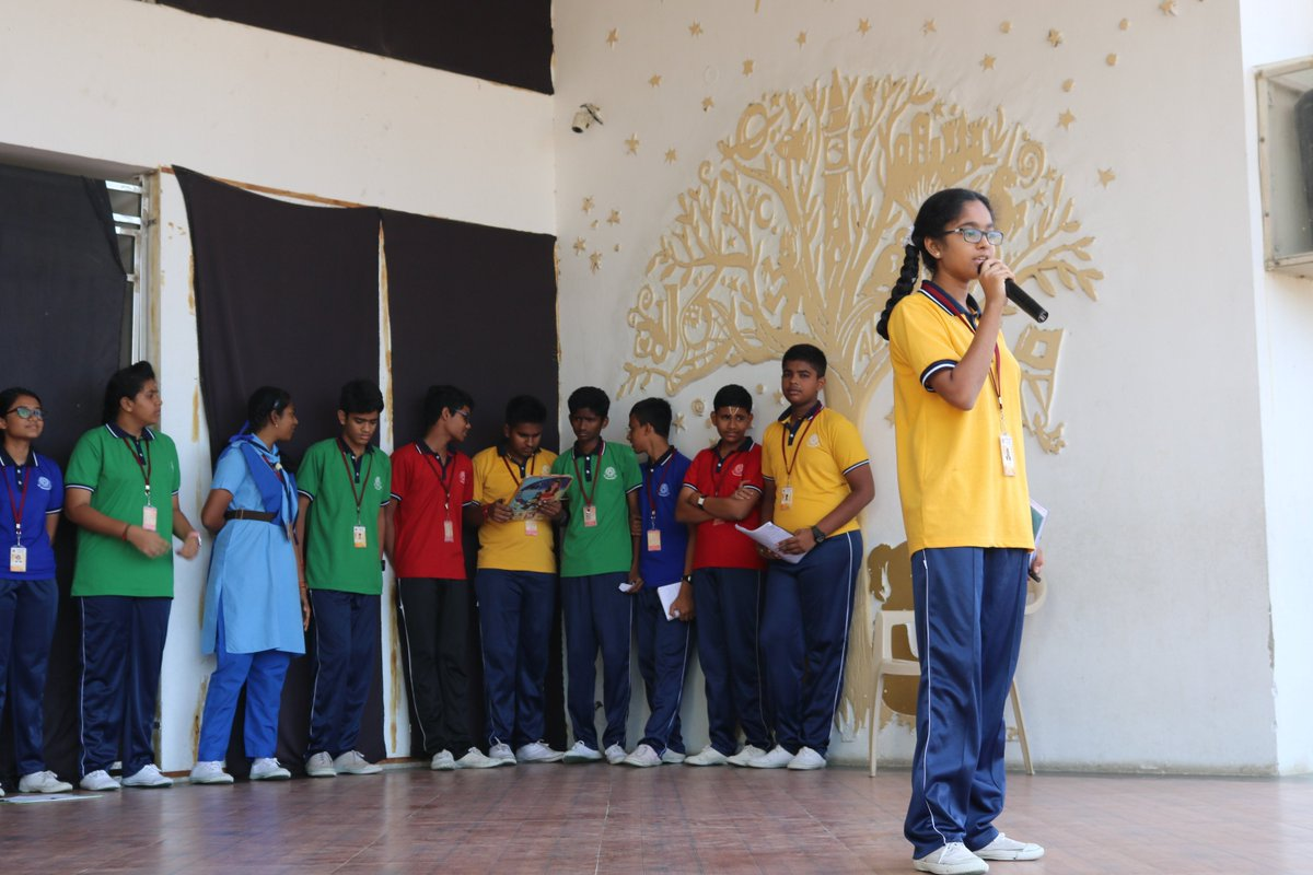 The students of grade x presented a very informative and interactive assembly on #InternationalLiteracyDay. The concept and importance of literacy was conveyed by the young leaders. <br>http://pic.twitter.com/3194dlxK3U