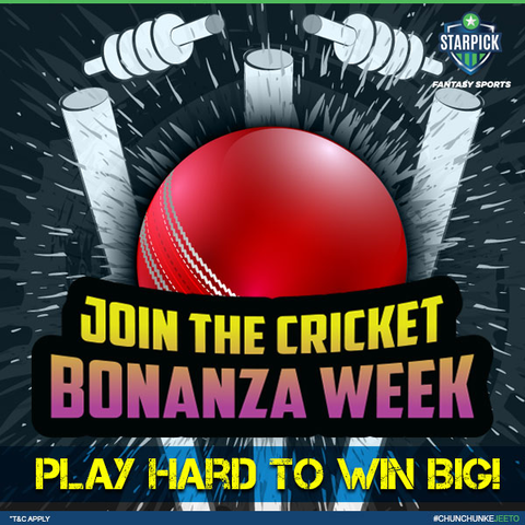 Brace yourself; the Cricket Bonanza is about to start this week.   10+ exciting matches with great guarantees are just a click away!   There is no time to rest, switch into action mode now.  http:// bit.ly/CricketBonanza      #FantasyCricket #Cricket #CricketLovers #WinCash #StayTuned<br>http://pic.twitter.com/9TOJt9Bw8c