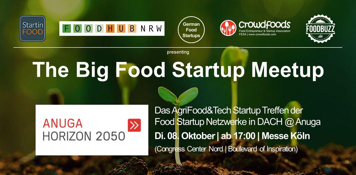 Dienstag: FoodStartup Meetup ab 17 Uhr, @anugacologne Horizon 2050 Zone bei Halle 8. Max Leveau wird @forwardfooding  vorstellen, eine internationale #Innovationsplattform für die #Lebensmittelindustrie. Wir freuen uns auf den Austausch m @crowdfoodsFESA @foodbuzzde @StartinFood https://t.co/JhAUAoP0Ss