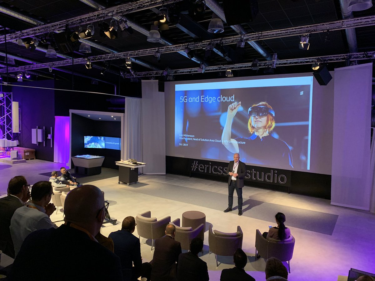 Kicking off the new week joining our friends at Ericsson Ventures for their 2019 summit @ericsson #ericssonstudio pic.twitter.com/vMvr4Gked5
