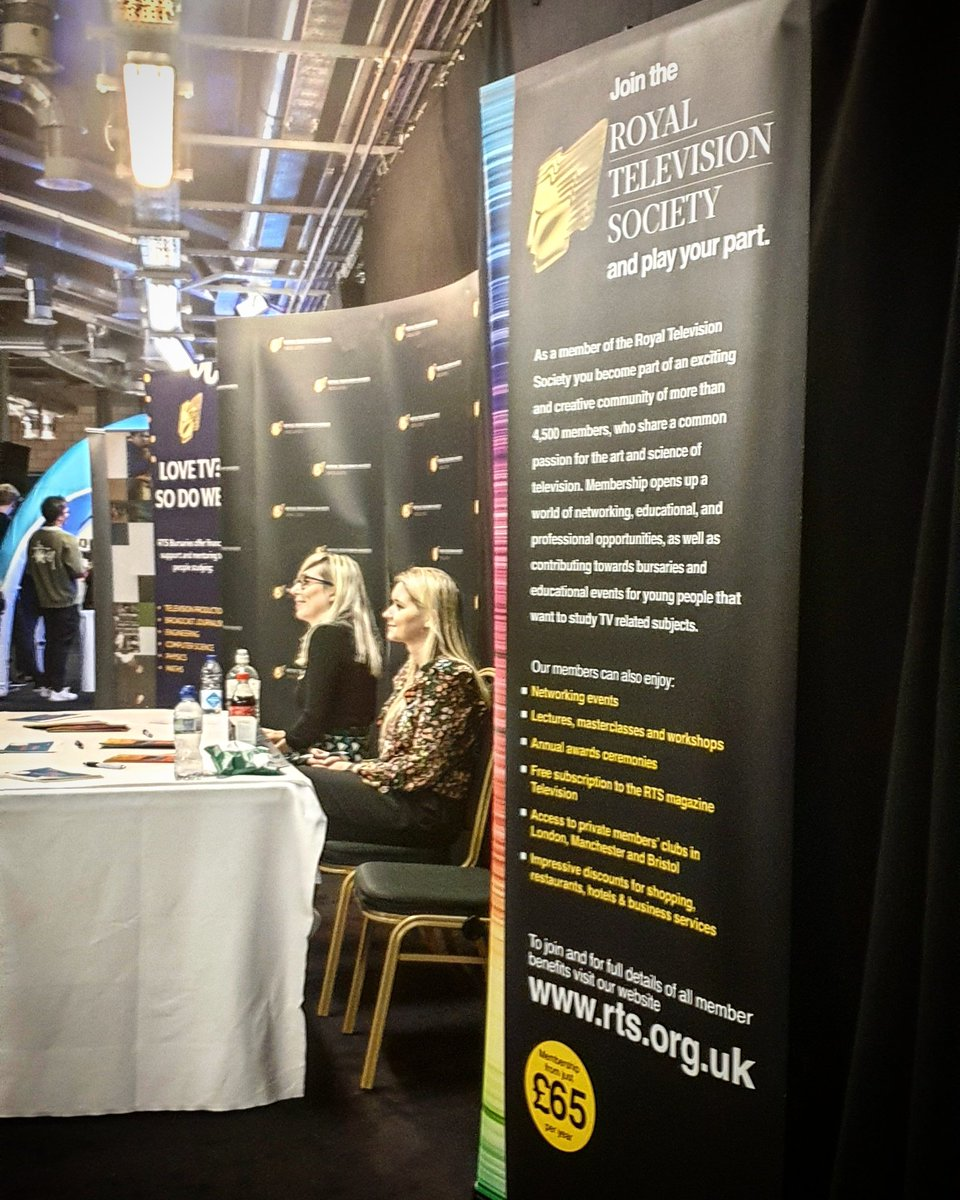 Fab day at @rts_mids meeting new people and finding lots of opportunities!