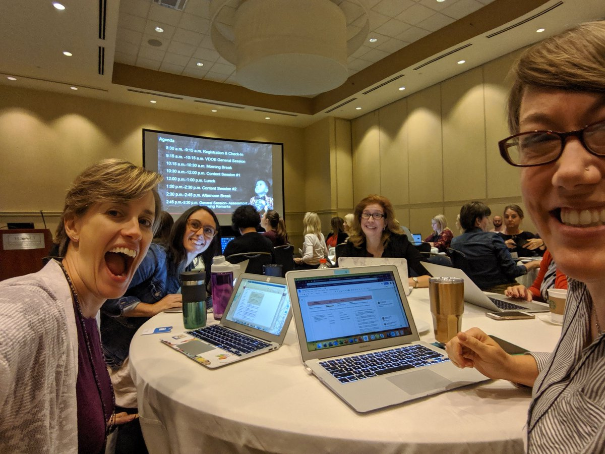 Representing <a target='_blank' href='http://twitter.com/APSVirginia'>@APSVirginia</a> at the <a target='_blank' href='http://twitter.com/VDOE_News'>@VDOE_News</a> English Deeper Learning Conference today! <a target='_blank' href='http://search.twitter.com/search?q=VAisForReaders703'><a target='_blank' href='https://twitter.com/hashtag/VAisForReaders703?src=hash'>#VAisForReaders703</a></a> <a target='_blank' href='https://t.co/PO2frFIkhf'>https://t.co/PO2frFIkhf</a>