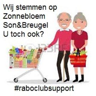 Ga met een gerust hart shoppen als u al op de Zonnebloem afd Son & Breugel gestemd heeft bij de Rabobank Club Support Actie.#boodschappen #shoppen #stemopons #uwstemisgeldwaard #uwstemiswelkom #raboclubsupport #rabosupport  #vrijwilliger  #zonnebloemgasten #zonnebloem