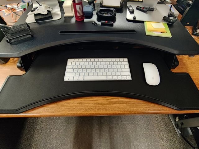 X Raypadoffical On Twitter The Picture From John S Sharing Custom Irregular Shaped Mousepad For Keyboard Tray Gaming Desk Https T Co Opmx06t7yr Https T Co Hyptruxdmo