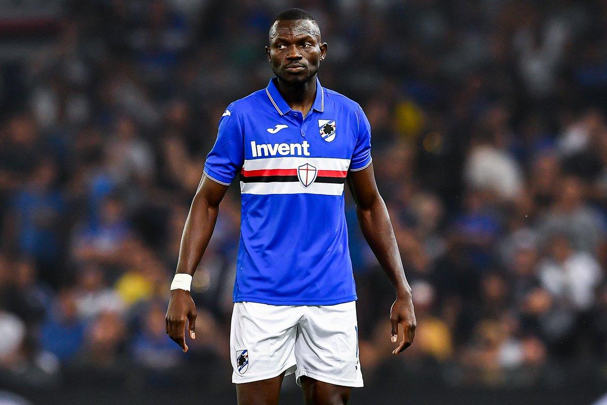 "Sampdoria English 😷 on Twitter: ""Omar #Colley #AFCON2021 Qualifiers 9/10 🇩🇯 #Djibouti v #Gambia 🇬🇲 13/10 🇬🇲 #Gambia v #Djibouti 🇩🇯… """