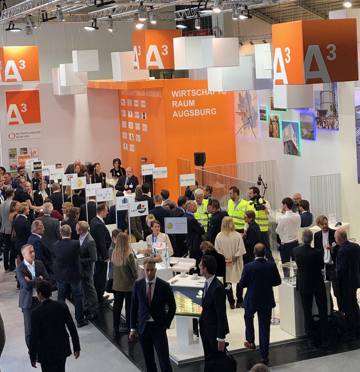 test Twitter Media - Unser Gemeinschaftsstand auf der @exporeal_team ist eröffnet! Lernen Sie den Wirtschaftsraum Augsburg in Halle A1 Stand 412 kennen 🤗 https://t.co/Wd6ErOn5jn