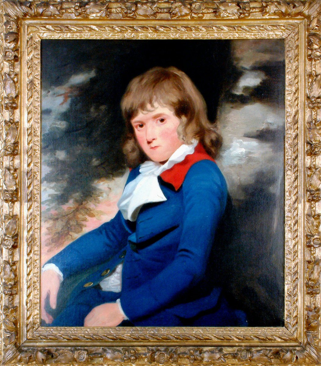 Edward Austen Knight, Jane Austens rich brother and once owner of this house, was born #OnThisDay in 1768. He gave this house to his mother and sisters to live in, and this portrait of him as a boy is held in our collection. #AustenTreasures