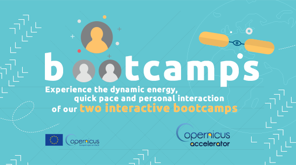 🗣️How would you rank your networking skills? The #CopernicusAccelerator includes two bootcamps that provide critical exposure and real-world experience for our fearless innovators💪. Are you ready to meet your perfect client/investor? Apply before 27 Oct. accelerator.copernicus.eu/start-ups/