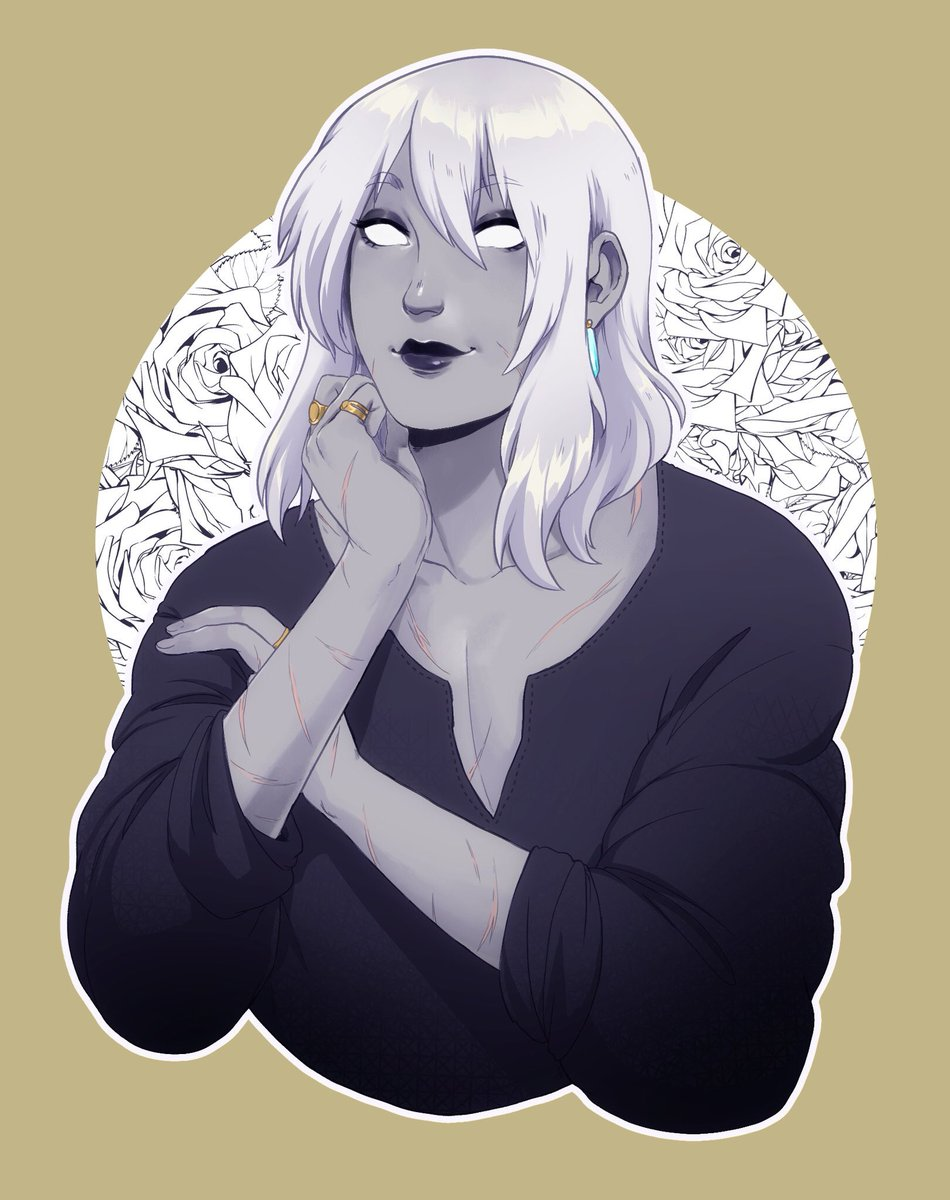 """Aasimar Sorcerer bay 🌙 @ catching up on to do list sur twitter : """"i can't"""