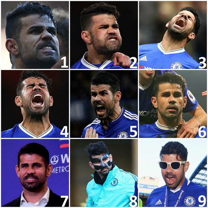 Happy 31st birthday, Diego Costa! Which Diego are you today?  [Via