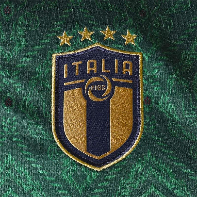 La nuova maglia verde della Nazionale italiana dedicata al rinascimento