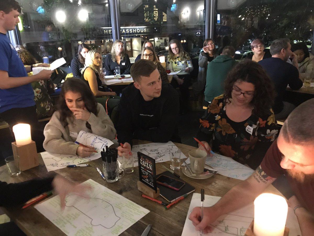 Workshopping at @_TheStable tonight as part of the #dorset contingency for #everymindmatters - with @HealthyDorset @bournemouthuni @Active_Dorset @LWDorset @Redweb @DorsetMHForum @bmthbloggers @FocalPointM @EduGam_UK @AndyHowe_ @MrPeteThompson @HashtagChandy @CraigEldridge
