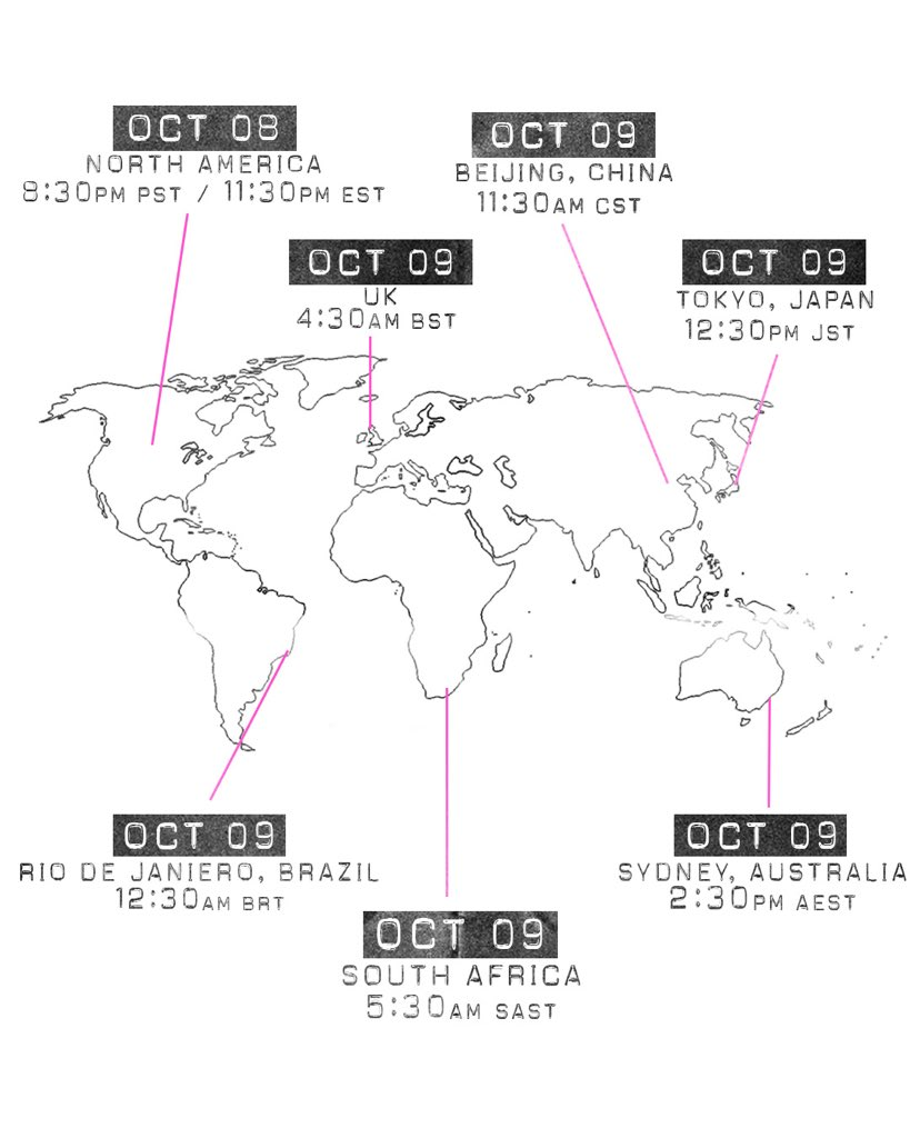 """8 Pst To Aest yungblud on twitter: """"original me global release times"""
