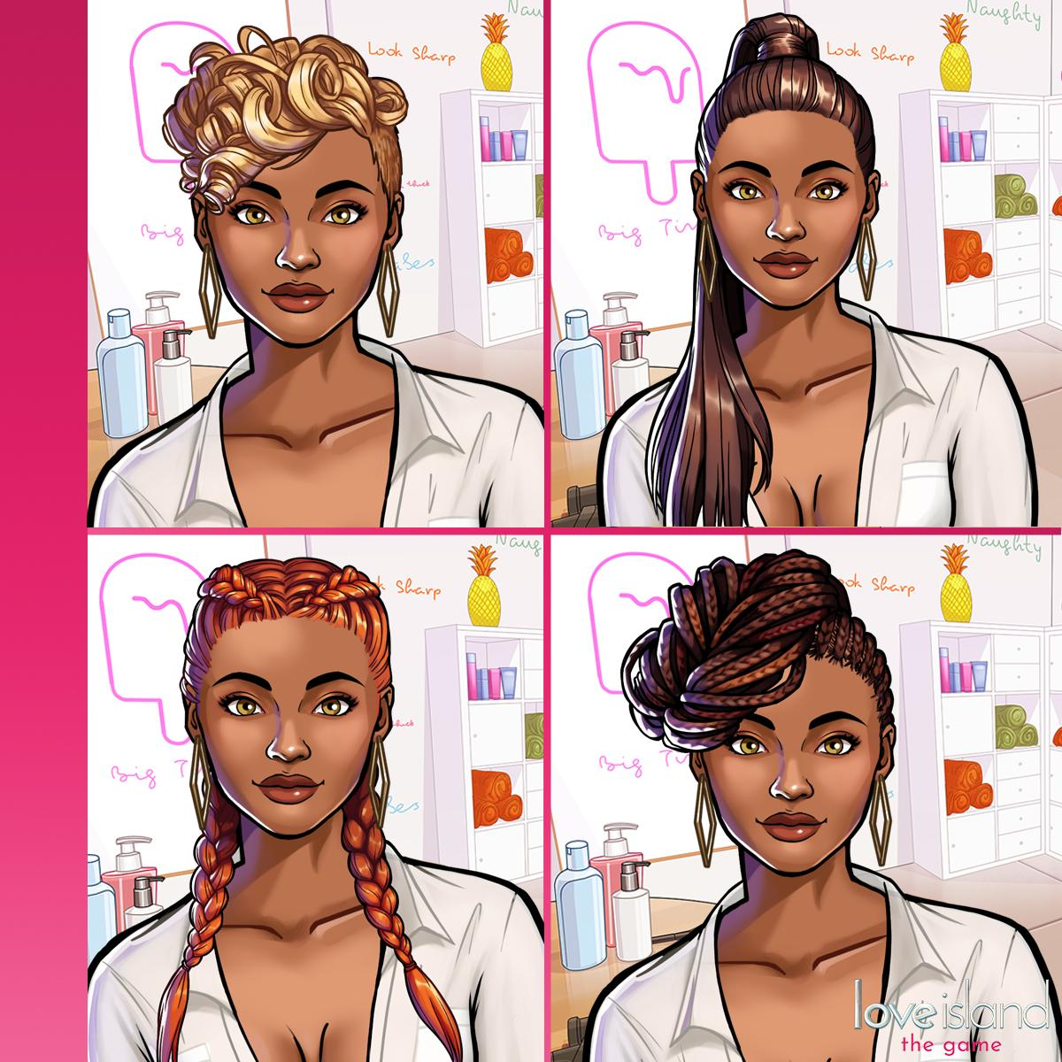 Fusebox Games On Twitter Dazzle In The Upcoming Finale And Change Up Your Look With These 4 Stunning New Hairstyles Which Hair Will You Choose For The Ultimate Finale Look Getsassy