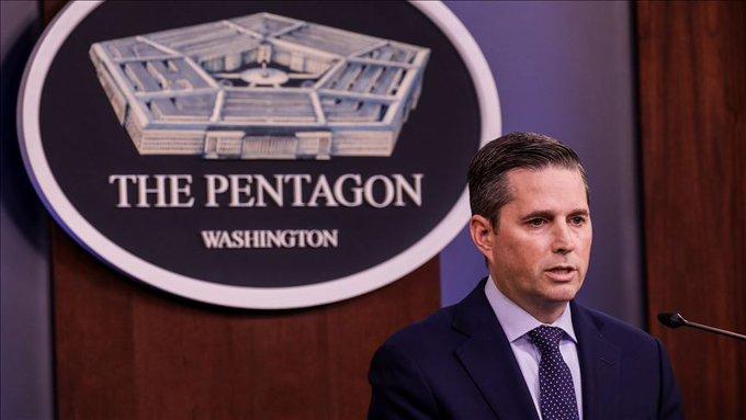 """Pentagon Sözcüsü Hoffman, """"Savunma Bakanlığı, Başkan'ın da belirttiği üzere, Türkiye'nin kuzey Suriye'ye yönelik operasyonunu desteklemiyor. ABD Silahlı Kuvvetleri bunu desteklemiyor ve böyle bir operasyona müdahil olmayacaklar"""" dedi."""