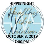 Image for the Tweet beginning: It's Hippie Night at the