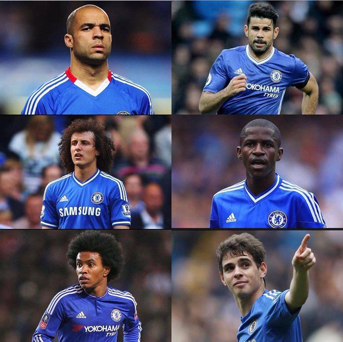 Pick your favourite Brazilian. I choose Diego Costa. Happy birthday to Diego as well as it is his birthday today.