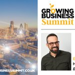 Our Head of Strategy, Ed Silk, takes to the @GrowingBizUK stage tomorrow at 1.40pm to give a talk on Busting the Myths of Brand #Design. Be sure to stop by if you're attending and keep an eye on our social media for the highlights if you're not! #branding #GrowingBusinessSummit