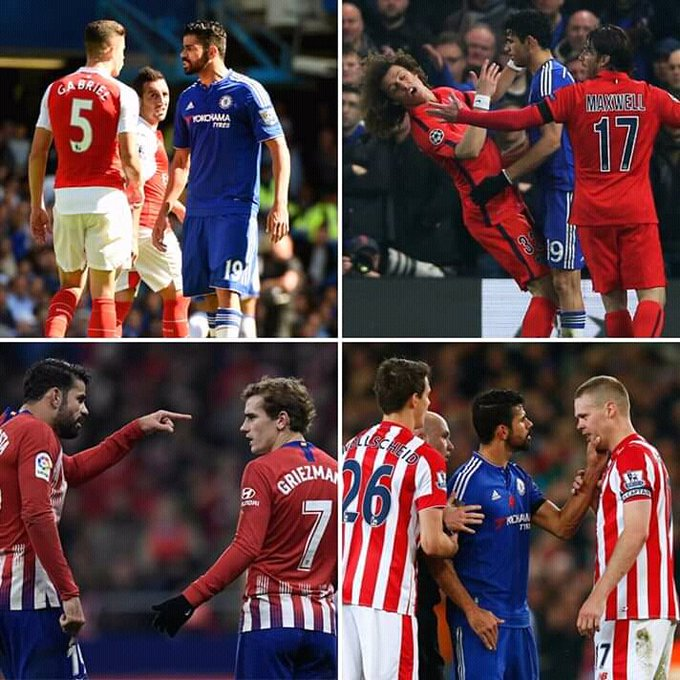 Happy 31st birthday Diego Costa, the man who could start a fight in an empty room!