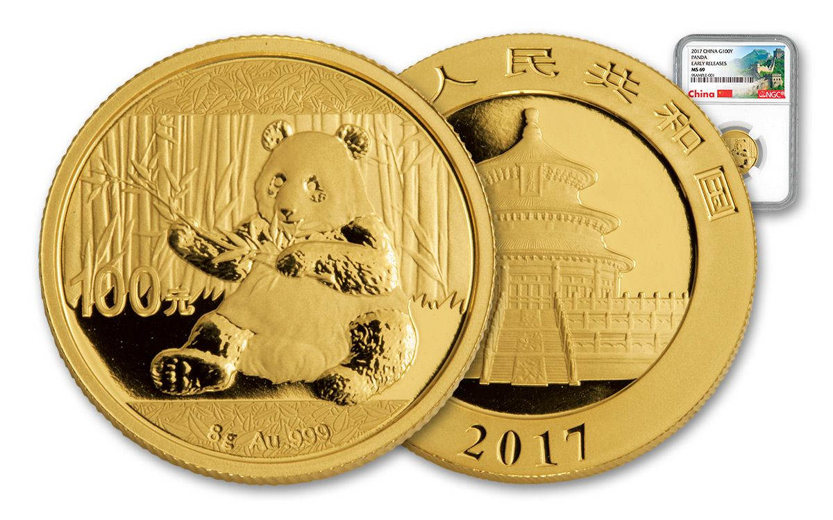 Chinese Gold Panda Coin Values