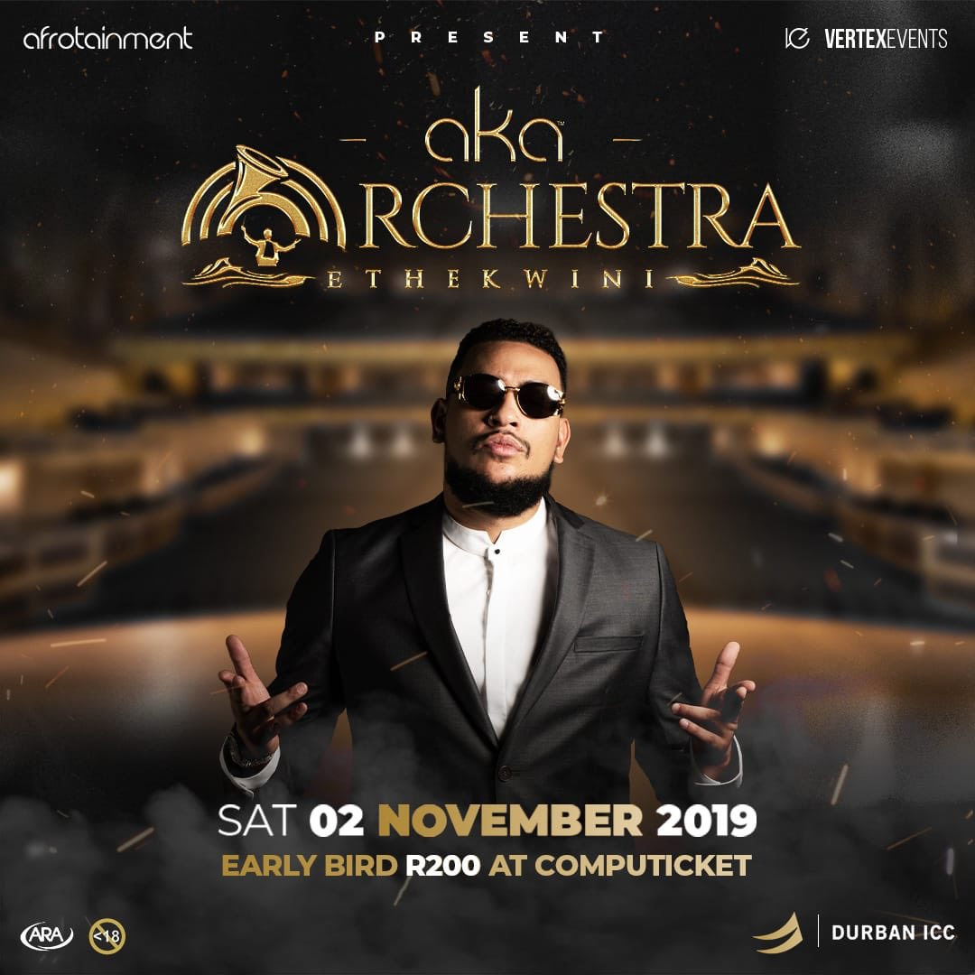 AYYYOOO!! #AKAOrchestraEthekwini IS NEARLY UPON US!!!  Get them tickets @Computicket quick fast.<br>http://pic.twitter.com/B69lD1Iepg