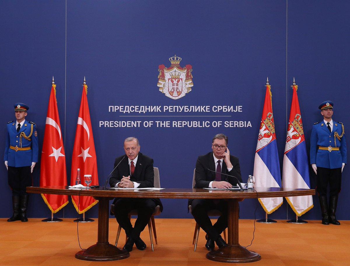 """""""Türkiye Balkanlar'ın istikrarı ve refahında yapıcı rol oynuyor"""" tccb.gov.tr/haberler/410/1…"""