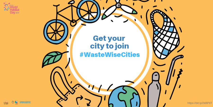 Happy #WorldHabitatDay! Celebrate with @UNHABITAT & learn about these top 2⃣0⃣ innovative solutions that transform waste to wealth: bit.ly/3363NAE #WasteWiseCities #BeatPollution
