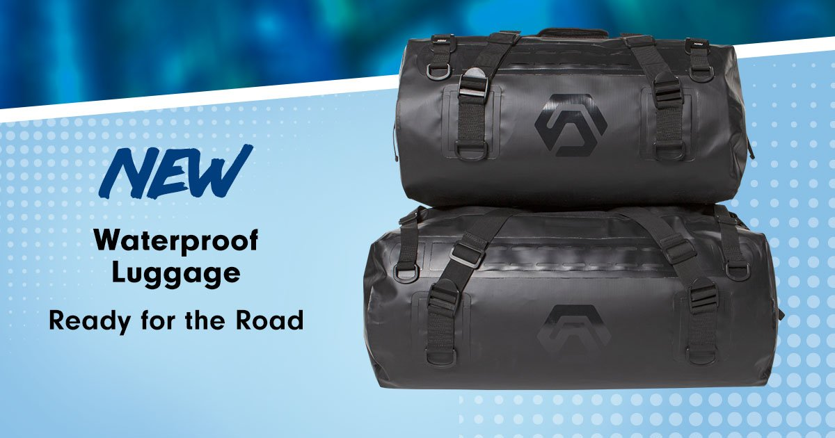 Be ready for whatever the road brings.  Waterproof Motorcycle Luggage: https://t.co/S1RwWZgLKf https://t.co/0gPkg7ngeO