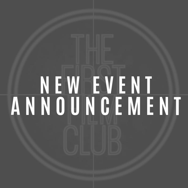 Stay tuned this week as well be announcing details for our second #TFFC event! 🎥♥️🎥