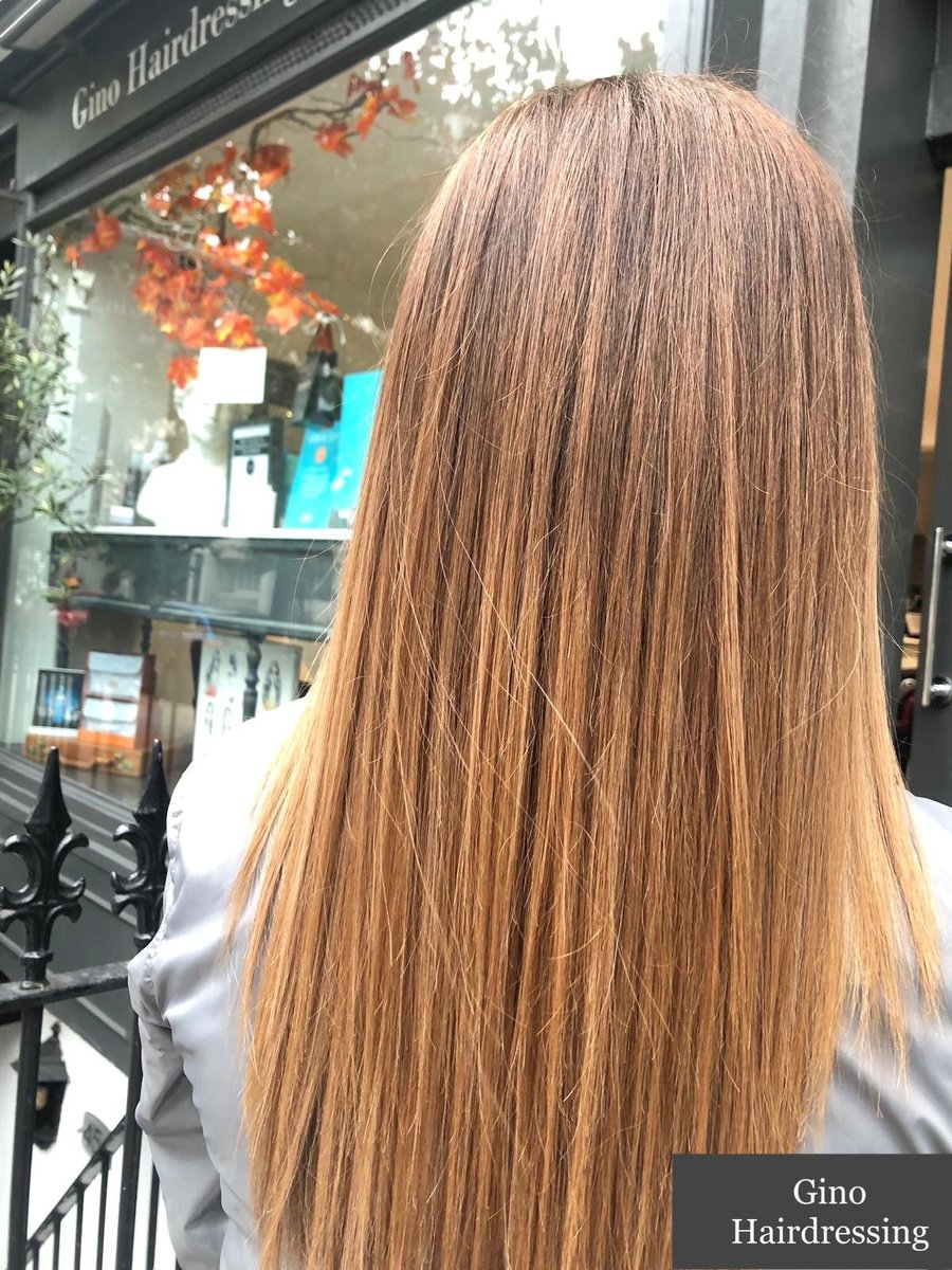 FALL LIGHTS 🍁✨ | Hair by Alexandra #ginohairdressing #bloomsbury #london #MondayMood #wellaprofessionals #olaplex #style #teamgino