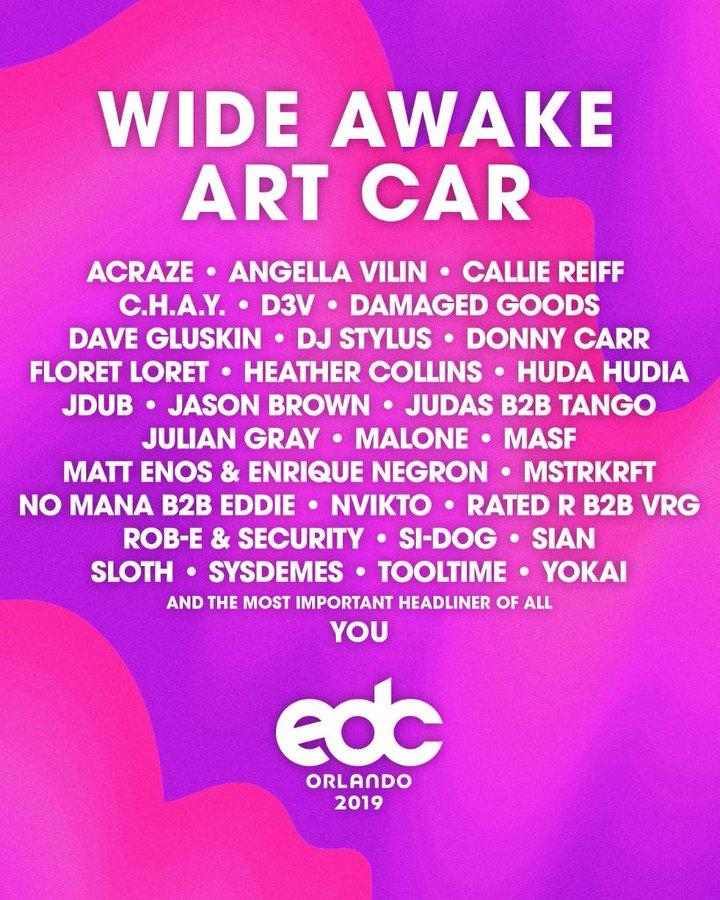 EDC Orlando 2019 lineup