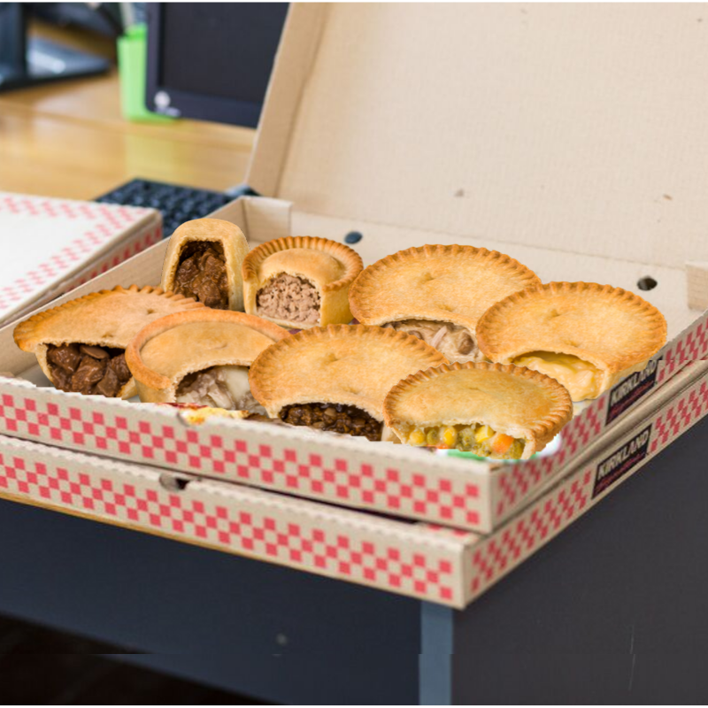 Partner: Can we have pizza for tea? Me: Nah, its all about the pies!