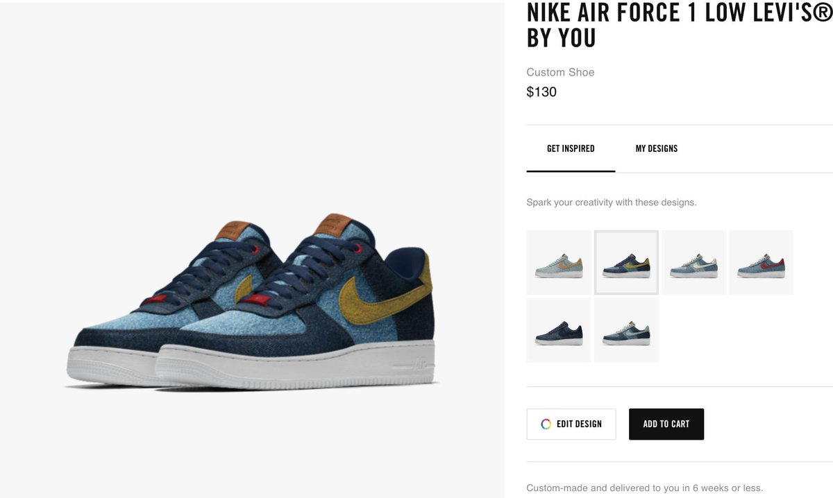 Levi's x Nike Air Force 1 Collection Release Date   Sole