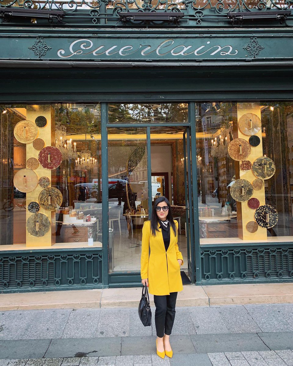 Lovely meeting with one of my favorite brands & luckily rewarded w truly the best spa experience you can have in the world at La Madison #Guerlain #ChampsElysees It would be an incredible pleasure to humbly contribute creatively with my compositions in a message with Guerlain.  <br>http://pic.twitter.com/mMSqfWC71f