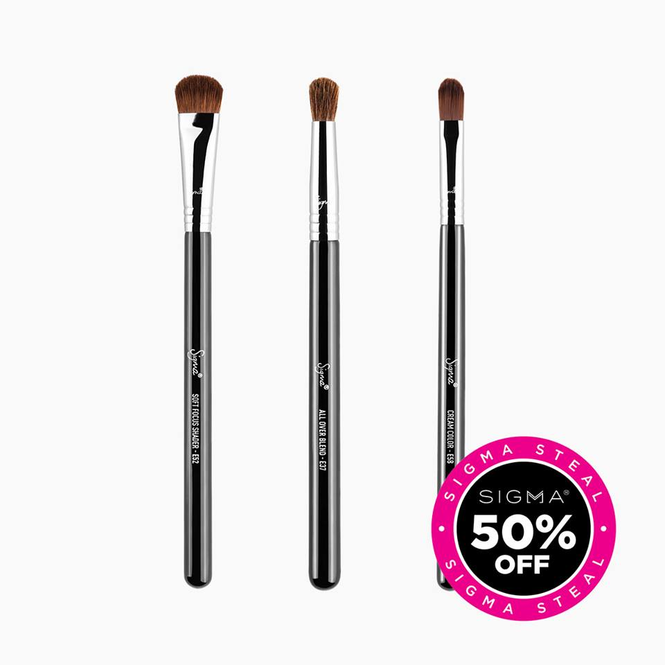 Get up to 50% OFF these Sigma Steals! ???? #sigmabeauty #sigmabrushes  Shop Now: