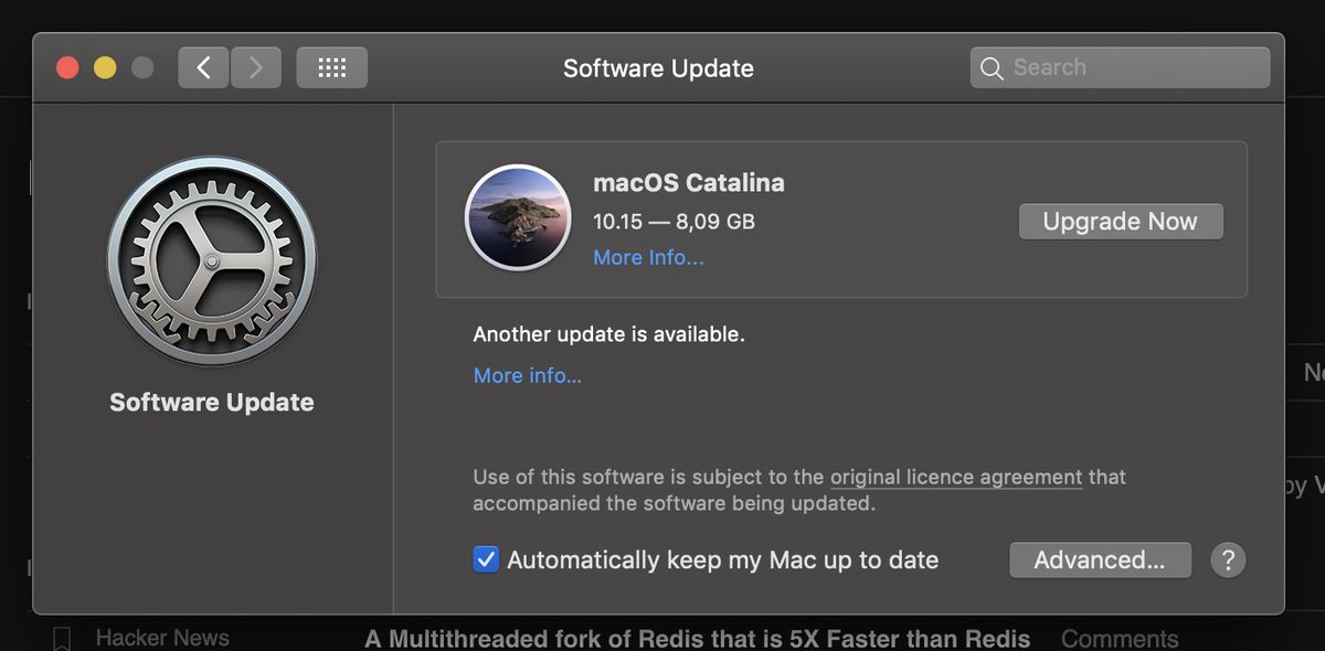 Time to update! #macOS #Catalina https://t.co/Ydd8PEl7s9