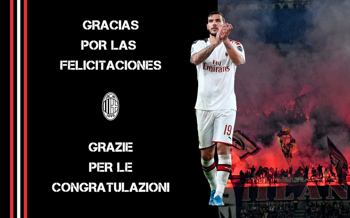 Thank you all for your messages  #GrazieMille <br>http://pic.twitter.com/JXA8rePNks