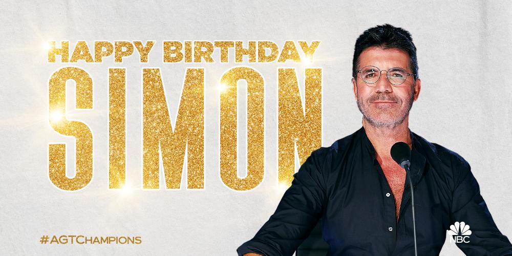 We couldn't forget the man of the hour. Happy birthday to the one and only, @SimonCowell! 🎂