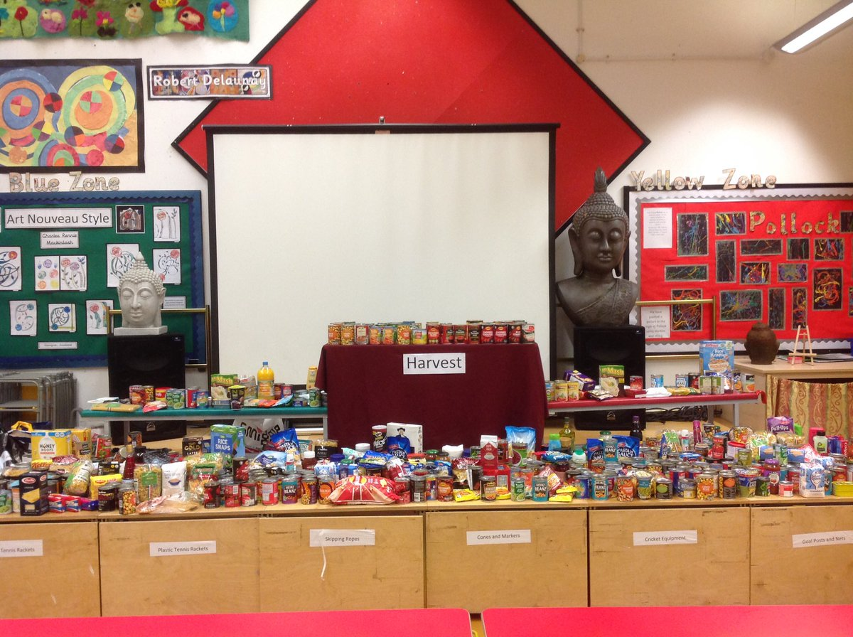 Thank you to the Valley School community for all the generous Harvest donations which have now been collected by @UrbanOutreachUK