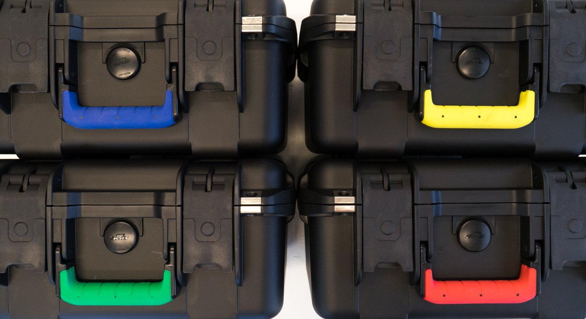 Did you know that you can customize most iSeries cases with a colorful handle? This is an easy way to make your case stand out and keep multiple cases organized. bit.ly/SKBPartsStore