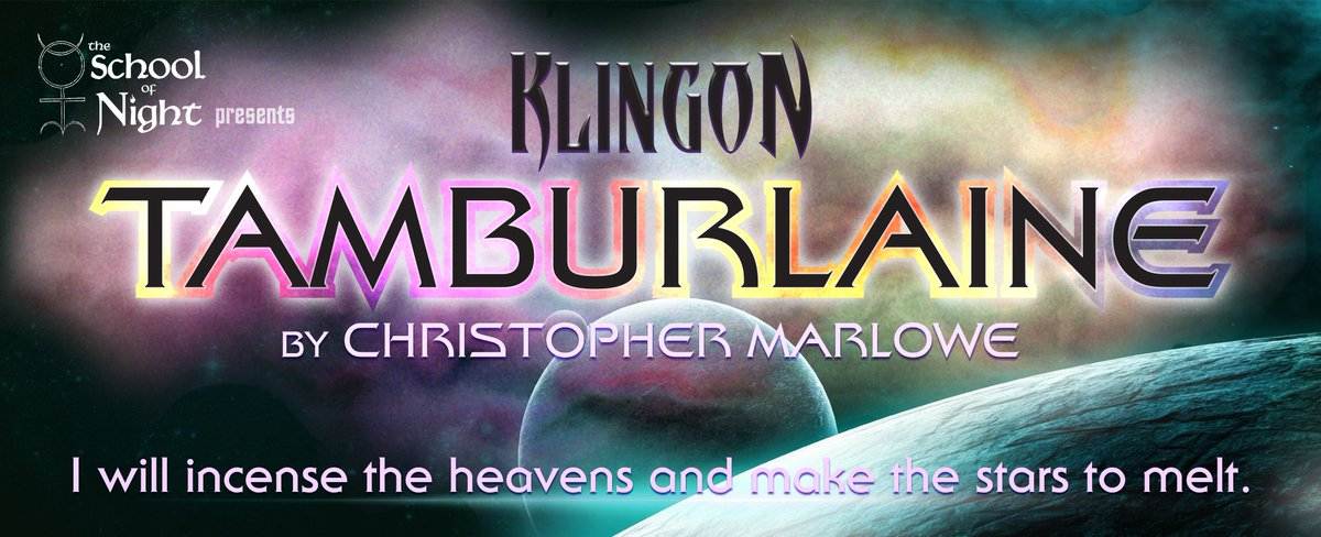 In 5 days the KLINGONS return! Get your tickets for opening night here: … https://kli ngontamburlaine.brownpapertickets.com     #lathtr  @ComplexHwood #Klingons #scifi #StarTrekUniverse #startrek #classicaltheatre #marlowe #theatrenerds  Hello @GineokwKoenig you in LA? Come check us out!<br>http://pic.twitter.com/wklm8350KQ