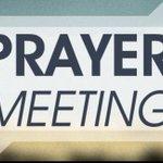 Image for the Tweet beginning: Focused Weekday Prayer Meetings resume