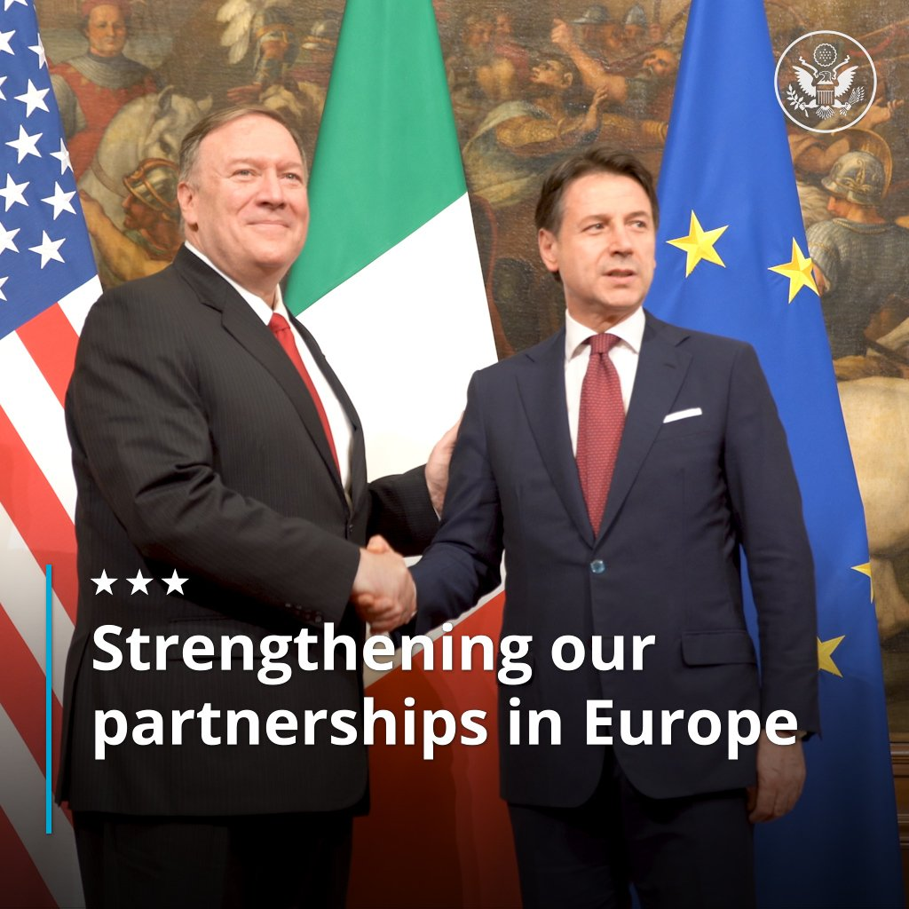 Our partnerships in Europe remain critical to promoting peace, protecting unalienable rights, and advancing prosperity. Returned to Washington with the knowledge that our relationships are stronger and better able to meet the challenges we face.