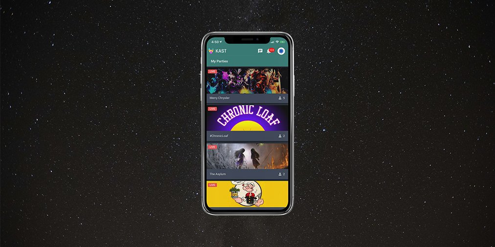 Kast On Twitter Currently The App Is Only For Watching However That Will Change From The Near Future With Voice Sharing Coming In The Next Few Weeks And Camera Screen Share