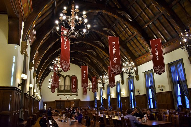 cathey dining hall hours