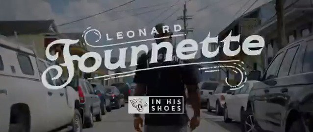 What you see in @_Fournette is a reflection of where he was raised: New Orleans. Learn more about the AFCs leading rusher in Leonard Fournette: In His Shoes See it first on the Jaguars App: jagrs.net/LF27