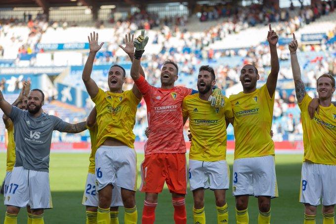 El Cádiz quiere seguir con su gran momento de forma / Fuente: Cádiz CF